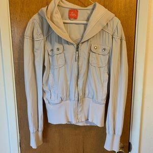 Lux gray jacket